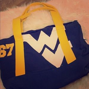 Victoria's Secret PINK, WVU tote bag.